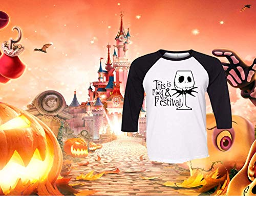 (Handmade Disney Halloween Shirt ~ This Is the Food & Wine Festival ~ Mickey's Not So Scary Halloween)