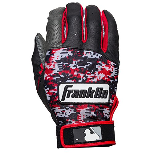 Franklin Sports Adult MLB Digitek Batting Gloves, Adult Medium, Pair,...