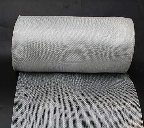 Yikai Fiberglass Woven Roving Cloth (2.6 Oz, Plain Weave), 11.8''inch x 164'feet (30cm x 50m) Long for Boat & Pool Repair by YIKAI