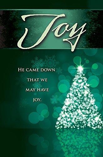 Joy Tree Advent Bulletin (Pkg of 50)]()