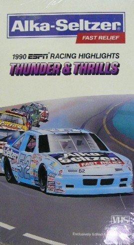 alka-seltzer-presents-1990-espn-racing-highlights-thunder-thrills-vhs-video-tape