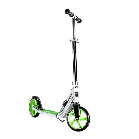 Patinete- Scooter para niños Dos Rondas 6-12 años Plegable ...