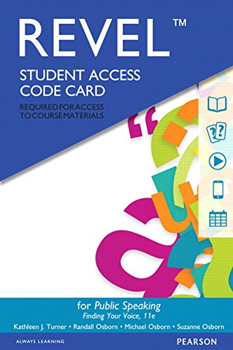 Revel for Public Speaking -- Access Card (11th Edition)