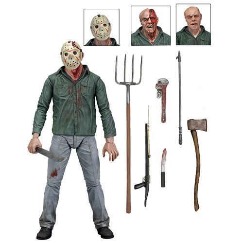 Friday the 13th 39702 7-Inch Ultimate Part 3 Jason Action Figure