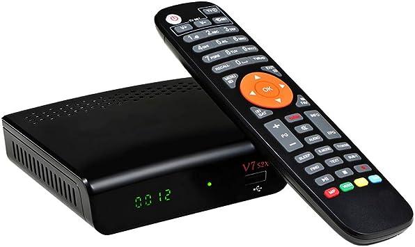 Nadalan Freesat V7 HD DVB-S2 + USB WIFI Soporte Receptor Cccam Powervu