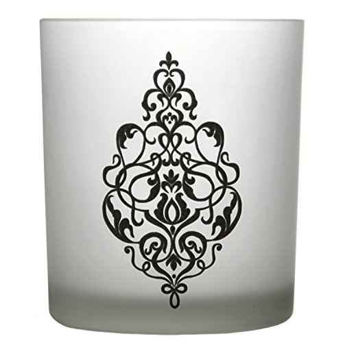 Frosted Glass Votive Wedding Favors (Hosley's White Frosted Glass Tealight Holder - 4