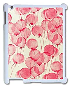 Balloon Case Cover for Ipad2,3,4,Pink Case for Ipad2,3,4 with WOQA256854.