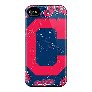 Best Hard Phone Cover For Iphone 6 With Provide Private Custom Realistic Cleveland Indians Skin CristinaKlengenberg