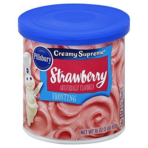 Pillsbury Creamy Supreme, Strawberry Flavored Frosting
