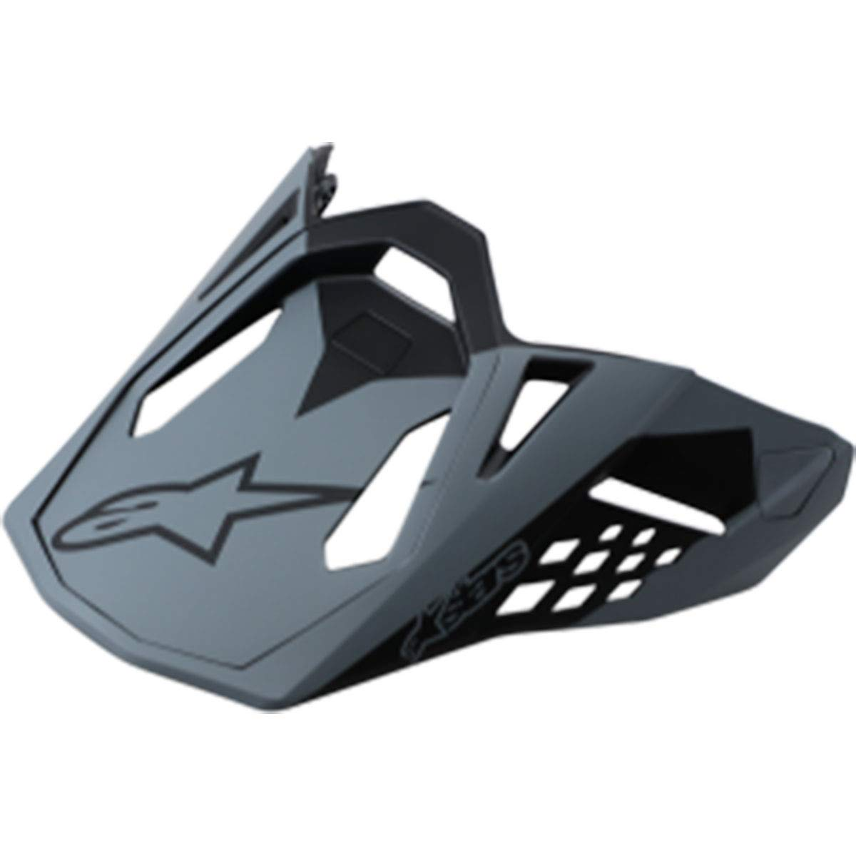 Alpinestars Supertech M10 Visor Off-Road Motorcycle Helmet Accessories - Matte Black/One Size