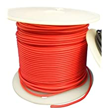 Ajax Scientific PVC Stranded Hook-Up Wire, 22AWG, 30m Length, Red