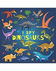 I Spy Dinosaurs: A Fun Guessing Game Picture Book for Kids Ages 2-5, Toddlers and Kindergartners ( Picture Puzzle Book for Kids ) (I Spy Books for Kids)