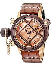 Men's 16175 Russian Diver Analog Display Mechanical Hand Wind Brown Watch