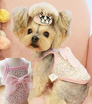 Amazon.com: FidgetKute Yorkshire Terrie Ropa de Perro Doggie ...