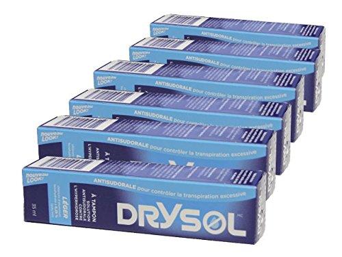 Biosense Clinic Drysol Dab On - Mild Strength 6.25% 35mlx6boxes