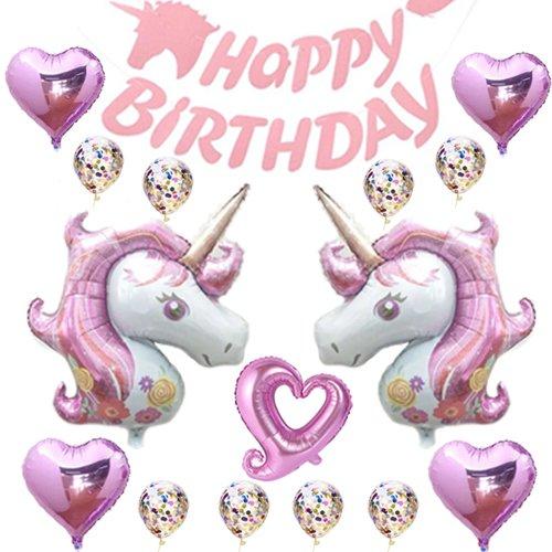 Unicorn Birthday Party Supplies,Unicorn Party Supplies Set Unicorn Birthday Decor,Unicorn Birthday Party Decorations Unicorn Balloons,Unicorn Birthday Banner Unicorn Birthday -
