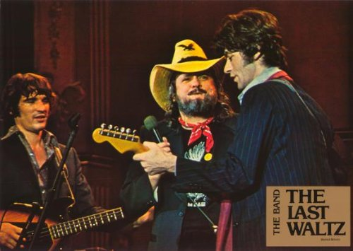 Last Waltz Poster Movie French I Paul Butterfield Eric Clapton Rick Danko Neil Diamond