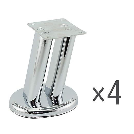 YZJJ Pies para Muebles - Patas de Metal Muebles Resistentes para ...