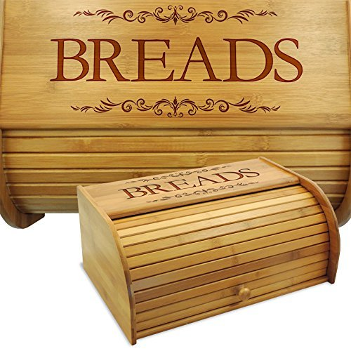 Cookbook People Classic Filigree Wood Bread (130 Lb Bin)