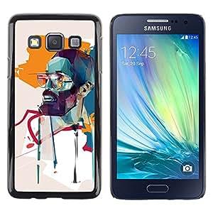 Be Good Phone Accessory // Dura Cáscara cubierta Protectora Caso Carcasa Funda de Protección para Samsung Galaxy A3 SM-A300 // learner