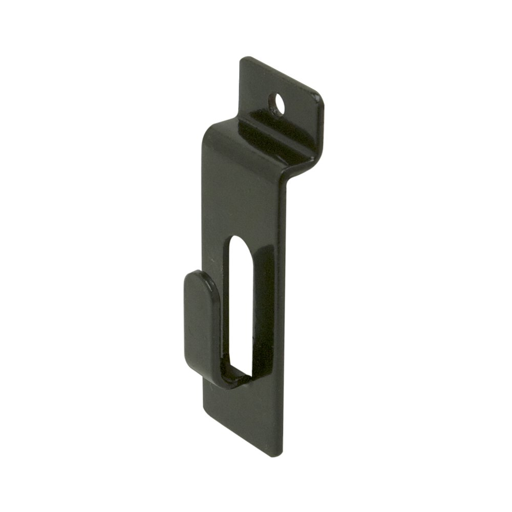 Econoco Commercial Notch Hook, Black (Pack of 96)