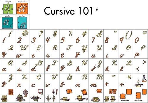 Amazon.com: Cricut Classmates Cartridge, Cursive 101