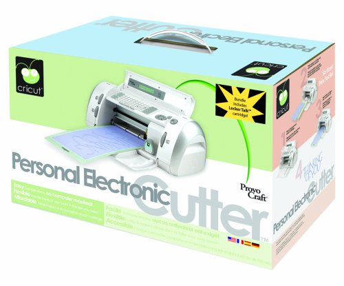 Cricut Personal Electronic Cutter, Bundle With 2 Cartridges ...