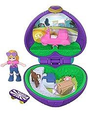 Polly Pocket-FRY30 Mini Cofanetto Picnic con Una Bambola, Giocattolo per Bambini 4+ Anni, Multicolore, FRY30
