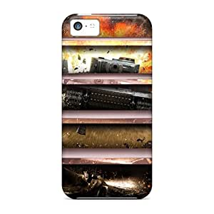 New Arrival Premium 5c Cases Covers For Iphone (war Shelf)