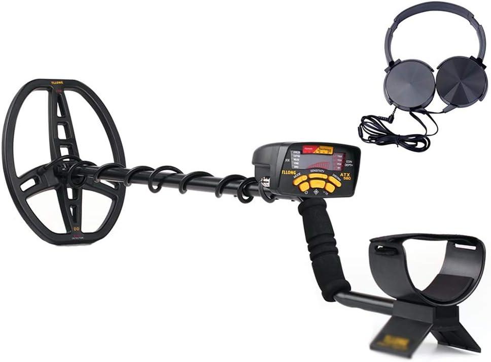 Detector de metales De National Geographic De Metal Buscador De Metro del Buscador De Oro Joyería De La Caza del Tesoro Búsqueda Pantalla LCD Selector: Amazon.es: Hogar
