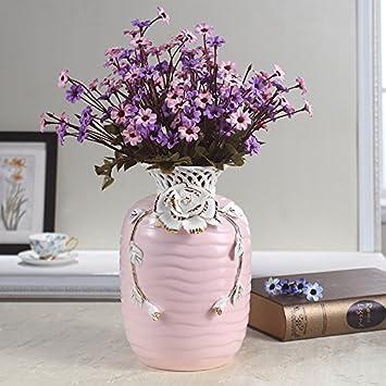 STJK$BMJW Der Eingang Zum Wohnzimmer Tv-Schrank Keramik Vase ...
