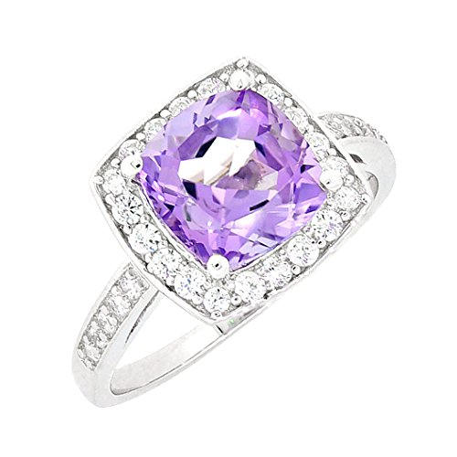 Vintage Style Amethyst Ring