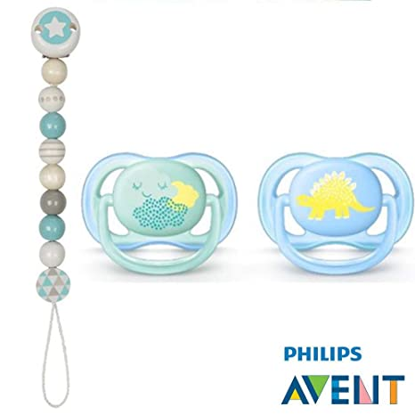 Philips AVENT Ultra Soft Air Chupete 0 - 6 mo.//Friendly ...