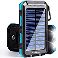 Solar Power Bank Portable Charger 20000m...
