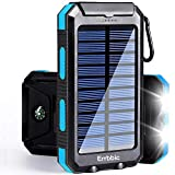 Best Solar Phone Chargers - Solar Power Bank Portable Charger 20000mah Waterproof Battery Review