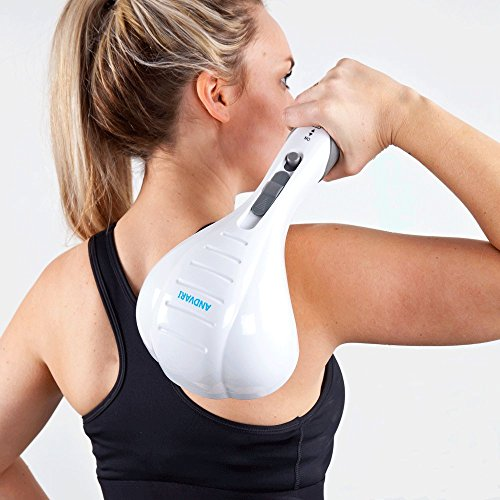 ANDVARI Handheld Massager Dual Percussion Back Massage –...