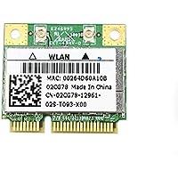 Dell Inspiron 1121 Wireless WLAN 802.11n Card 2CG78 Mini PCI-e Half 02CG78