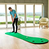 FORB Home Golf Putting Mat (10ft Long) - Conquer The Green In Your Own Home! [Net World Sports]