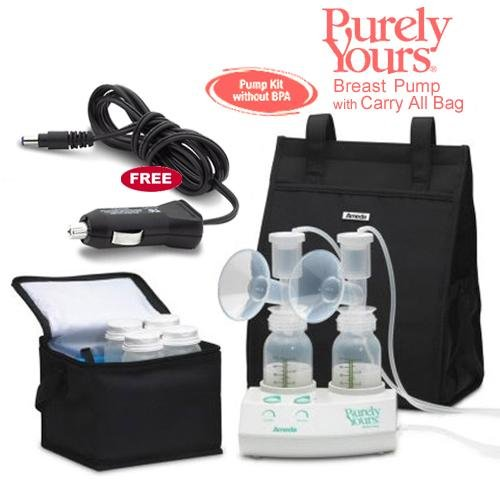 AMEDA 17077KIT7 Purely Yours Breast Pump Combo 7 with Car...