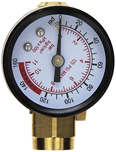 Performance Tool M693 Air Regulator with Gauge (Adjustable Air Pressure Regulator compare prices)