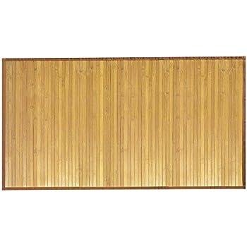 Amazoncom Venice Natural Bamboo 5 X 8 Floor Mat Bamboo Area Rug