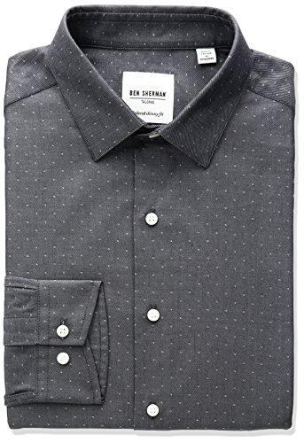 ben-sherman-mens-skinny-fit-dobby-spread-collar-dress-shirt-indigo-165-neck-34-35-sleeve