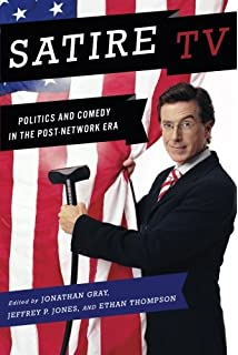 Entertaining politics satiric television and political engagement satire tv politics and comedy in the post network era fandeluxe Image collections