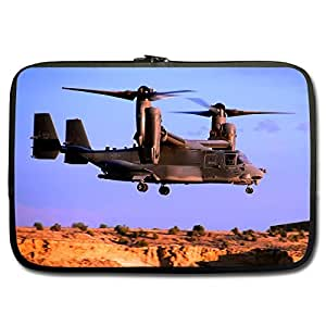 Cool V22 Osprey 15 / 15.6 Inches Neoprene Laptop Sleeve - Laptop Bag - Laptop Case (Twin Sides Printing)