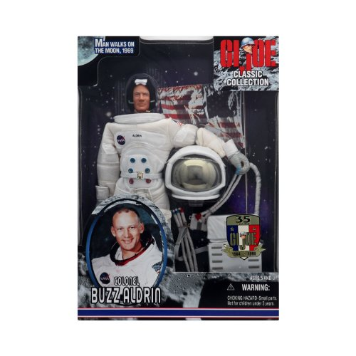 GI Joe Classic Collection Colonel Buzz Aldrin Astronaut in NASA Space Suit (Gi Joe Classic compare prices)