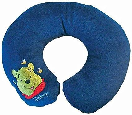 Disney - Cojín de cuello para viajes con peluche, Almohada de cuello para viaje con peluche.