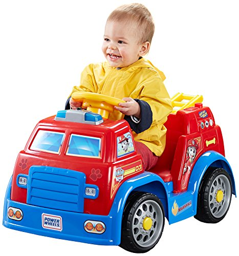 Power Wheels Paw Patrol Fire Truck