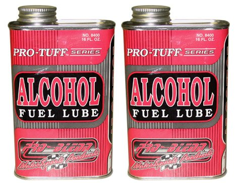 2 BOTTLES OF PRO-BLEND ALCOHOL FUEL TOP LUBE, ALKY-LUBE, TWO 16 OUNCE BOTTLES
