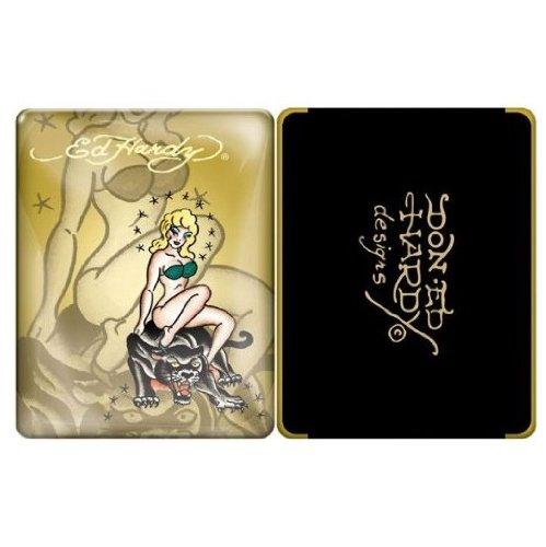 iPad 1 case - Ed Hardy Bikini (Golden) 1st Generation iPad case for iPad1 (Oct 2010) ()