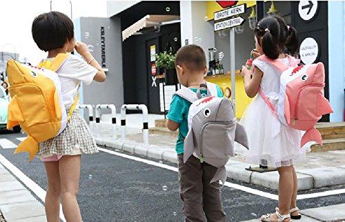Rainbow Baby - Mochila Infantil Bolsa de Guardería Escuela Viajar con Arnés de Seguridad para Niños 2-7 Años - Rosa Rosa